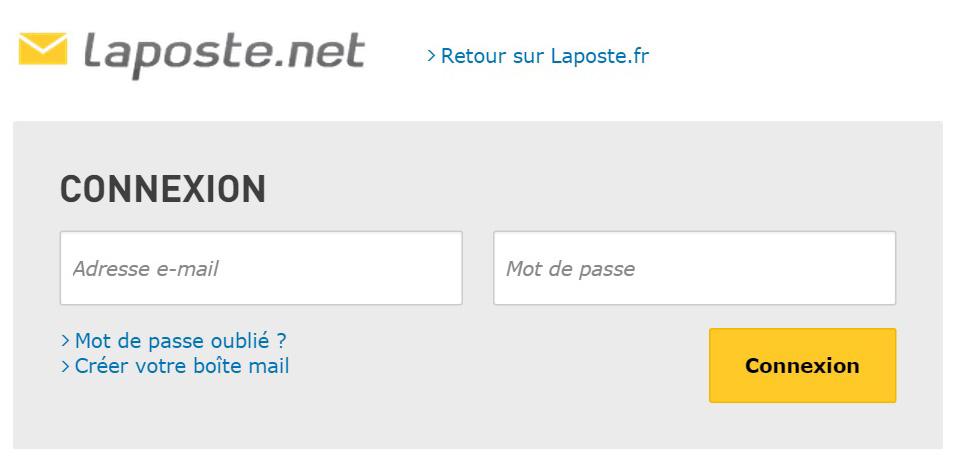 Laposte Mail connexion - se connecter à ma boite mail